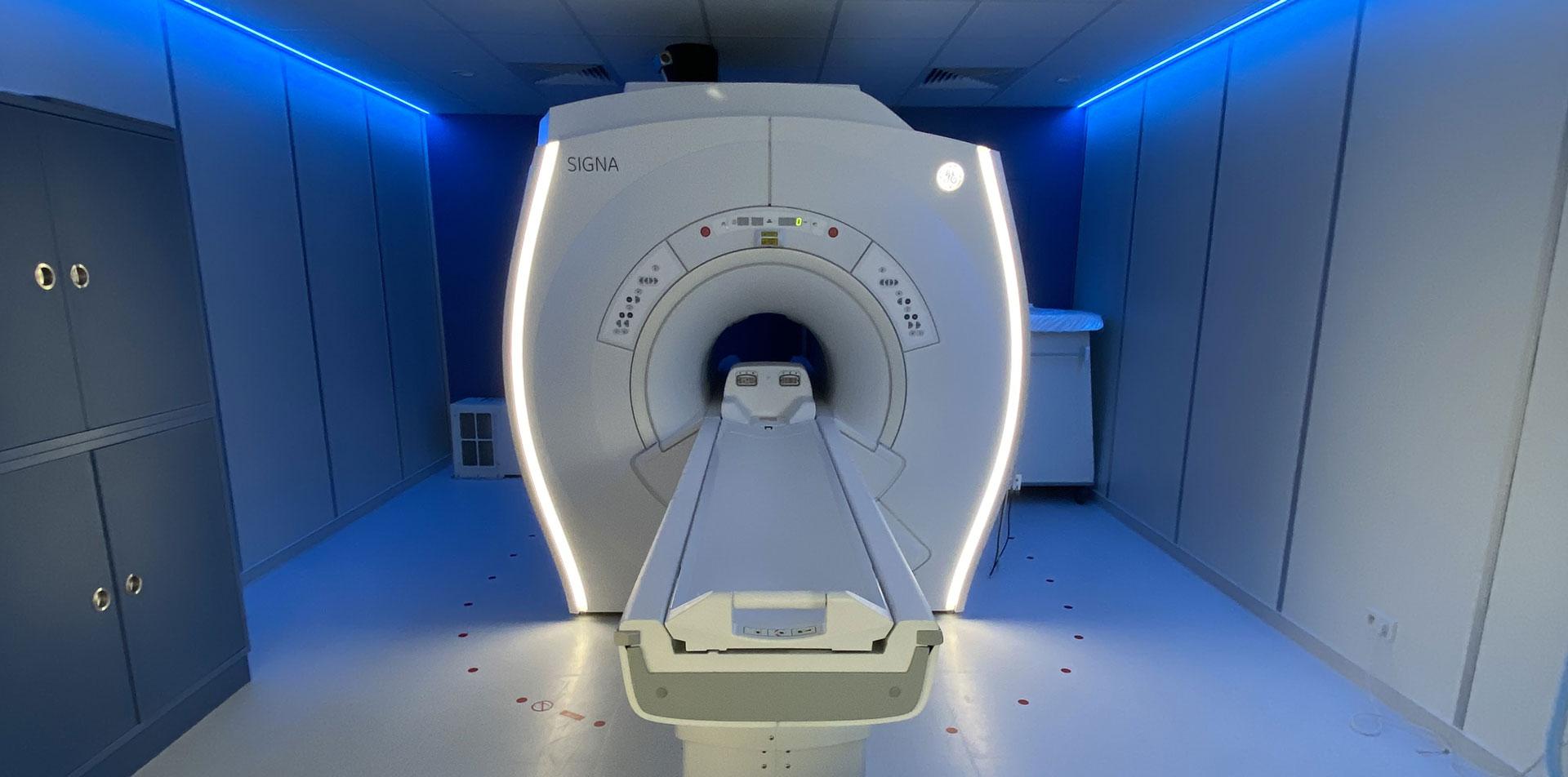 Photo de l'IRM d'HawkCell de face